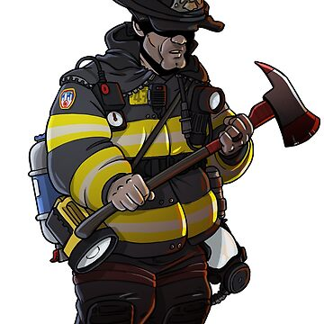 New Yorker Firefighter by TacOpsGear