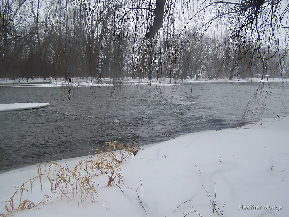 beautiful river by Heather Mudge
