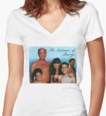 The Summer of George Women's Fitted V-Neck T-Shirt