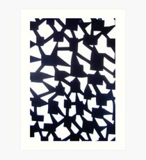 Angled Art Print
