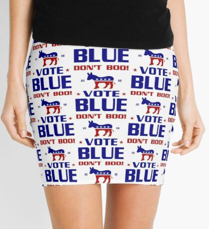 Dont Boo Vote Blue 2018 Mini Skirt
