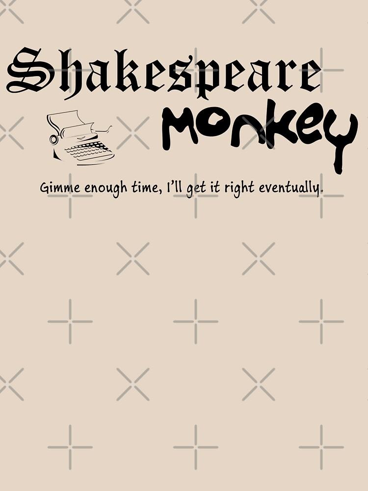 Shakespeare Monkey by Thogek