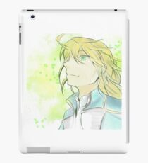 Blond hair boy iPad Case/Skin