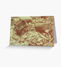 Antique Creel Greeting Card