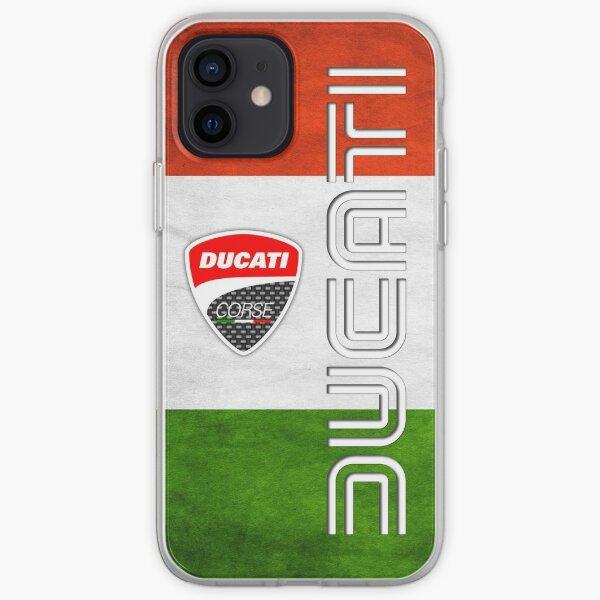 Drapeau Ducati Italie Coque souple iPhone