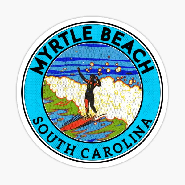 Myrtle Beach South Carolina Sticker