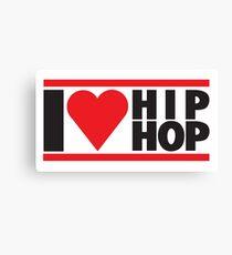I LOVE HIP HOP Canvas Print