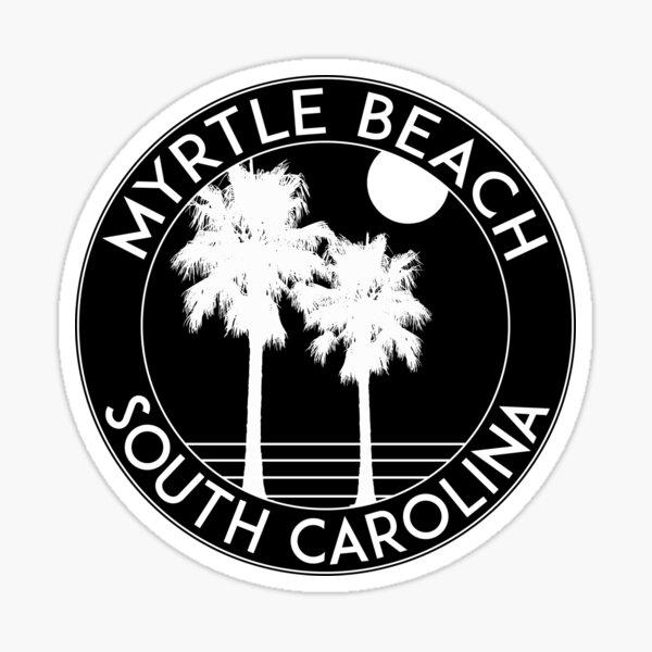 Myrtle Beach South Carolina Atlantic Ocean Travel Sticker