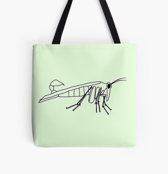 Mecoptera All Over Print Tote Bag