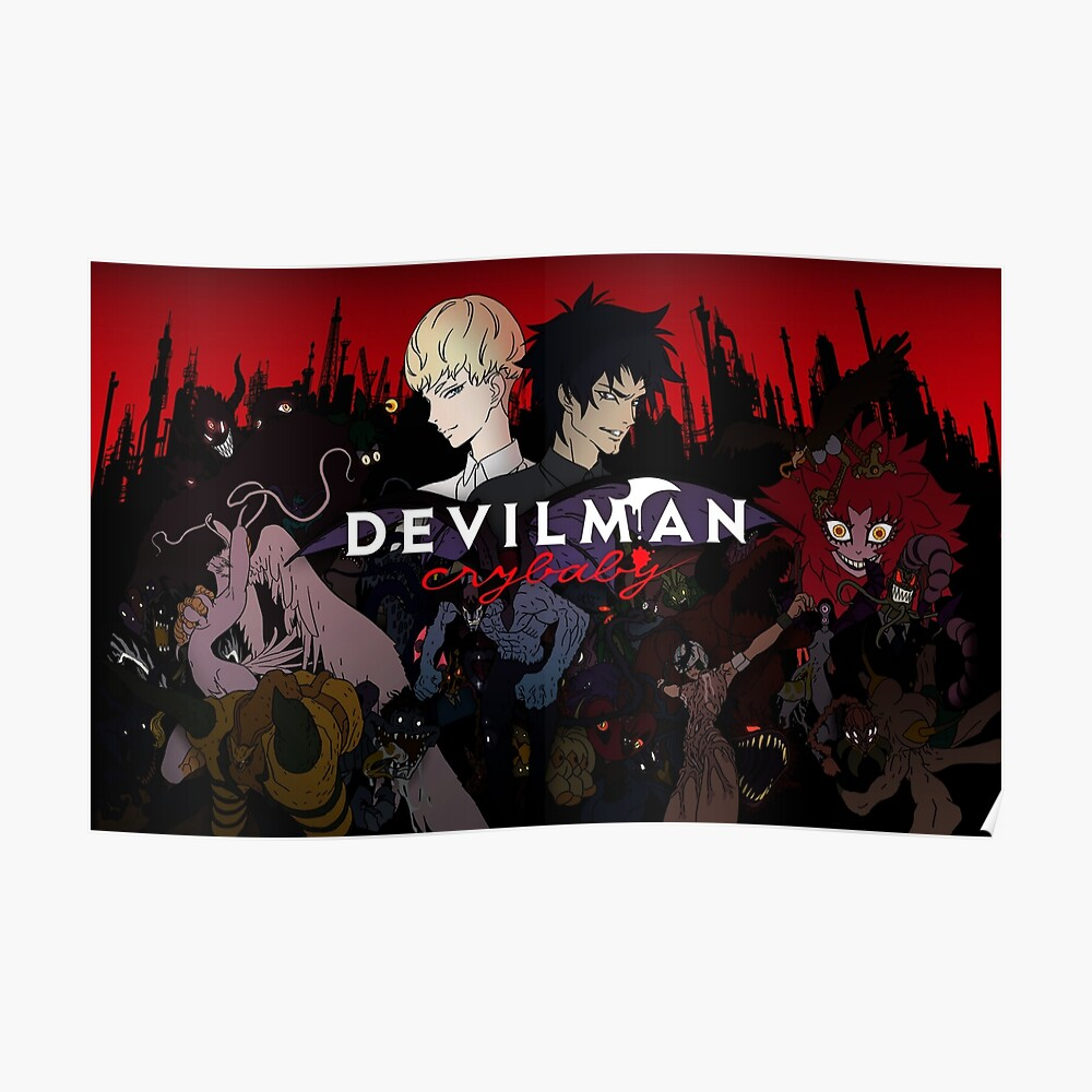 Devilman Crybaby Póster