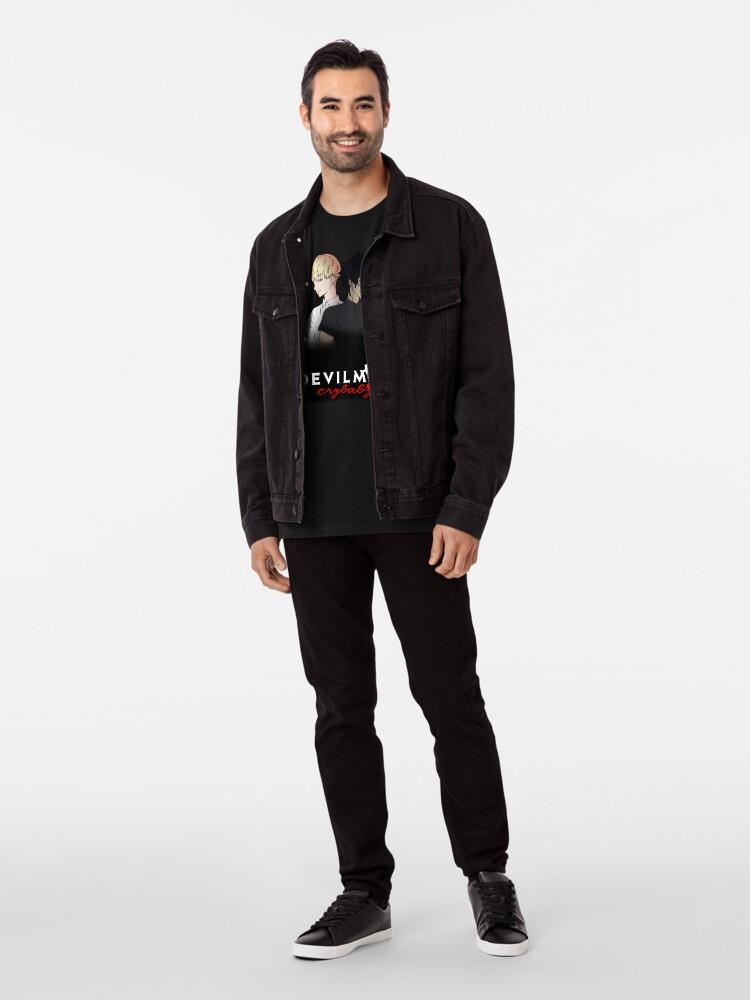Vista alternativa de Camiseta premium Devilman Crybaby