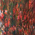 Herbe dans les flammes by George Hunter