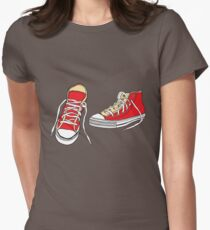 Vintage Converse  Womens Fitted T-Shirt