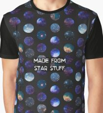 Made from Star Stuff in Black Graphic T-Shirt