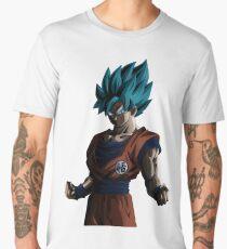 Goku ssj god blue  Men's Premium T-Shirt