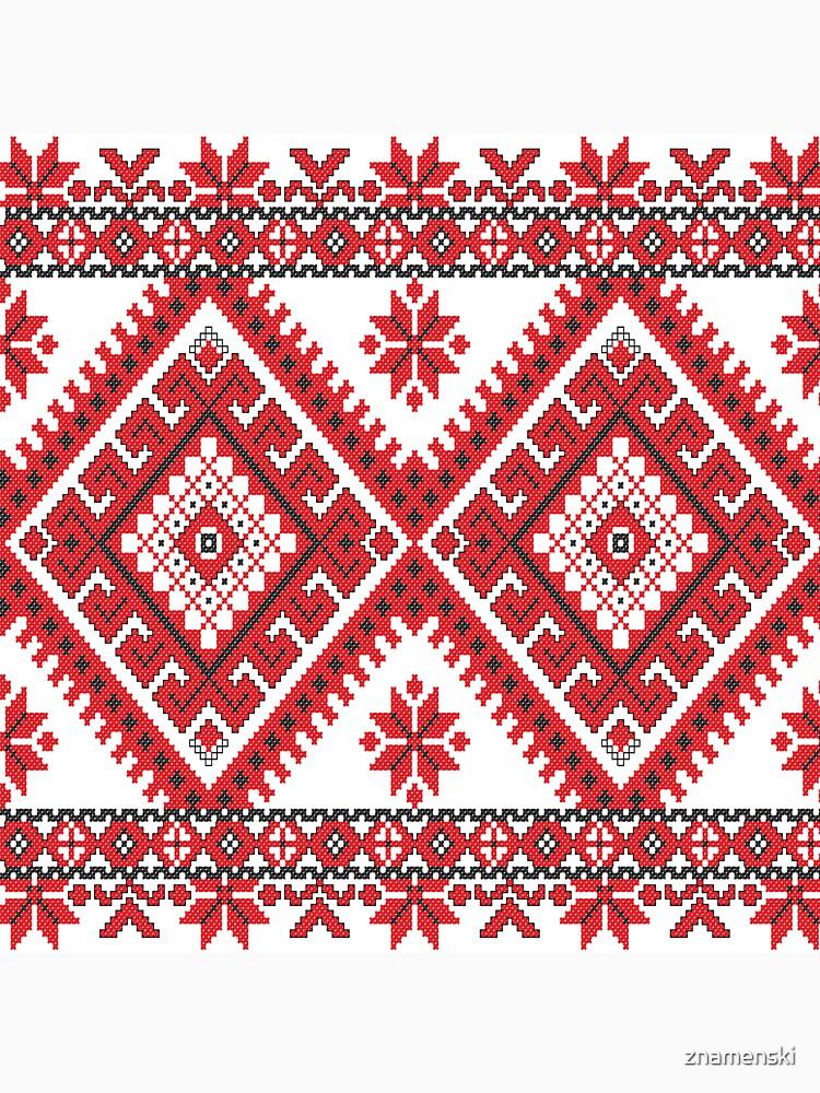 Ukraine Pattern - Ukrainian embroidery: вишивка, vyshyvka, #Ukraine #Pattern #Ukrainian #embroidery #вишивка #vyshyvka UkrainePattern #UkrainianEmbroidery #Украина by znamenski