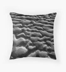 Sand Ripples Throw Pillow