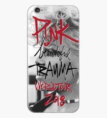 Pink Beautiful Trauma Tour 2018 iPhone Case