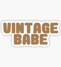 Vintage Babe Sticker