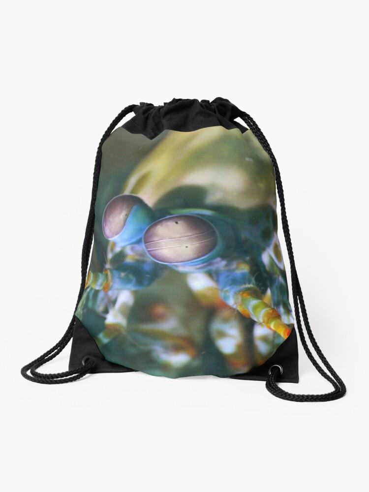 Mantis shrimp | Drawstring Bag