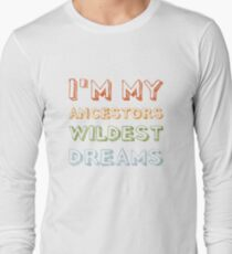 Ancestry gift for Ancestry Lovers Long Sleeve T-Shirt