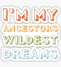 Ancestry gift for Ancestry Lovers Sticker