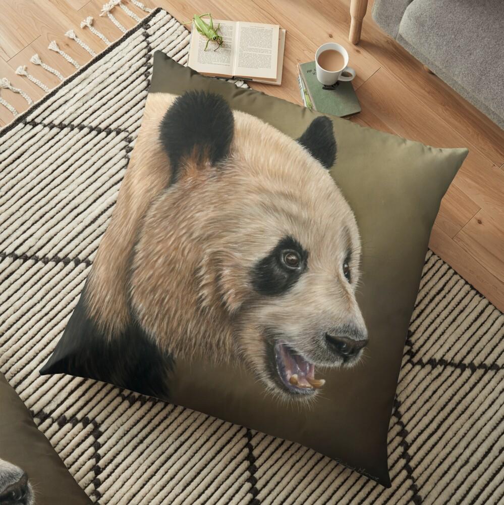 Giant Panda Floor Pillow
