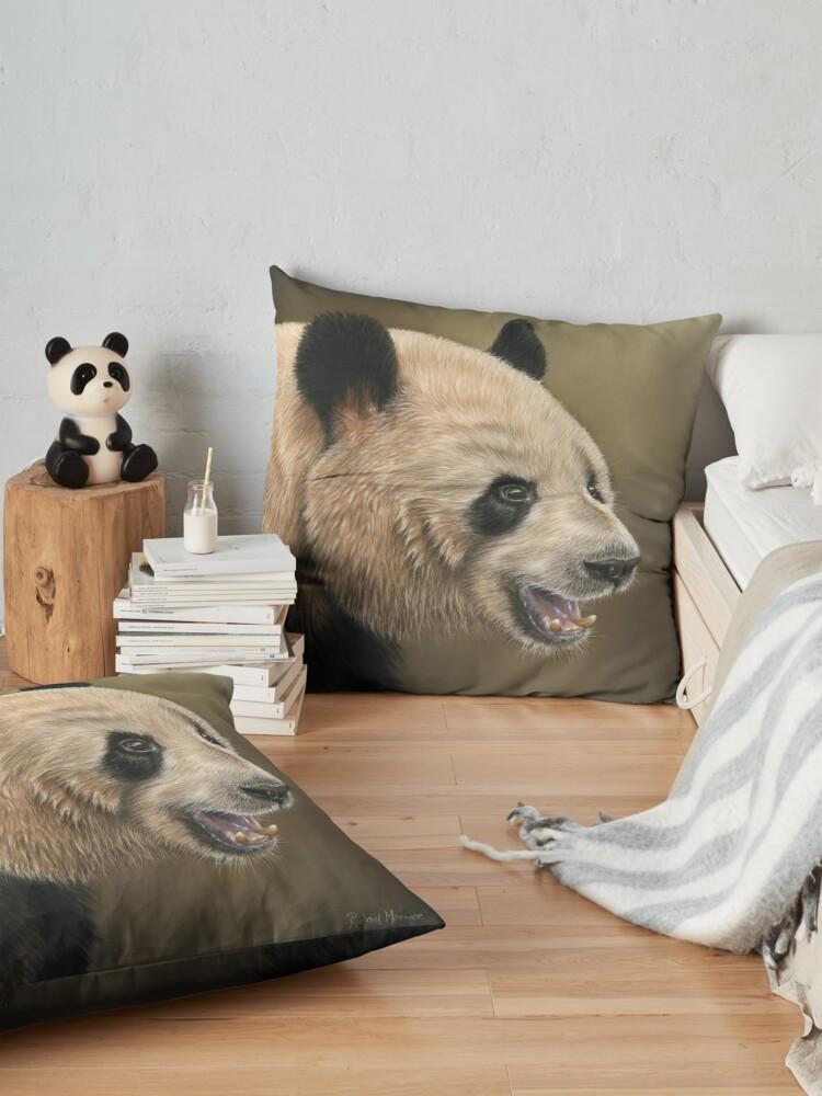 Alternate view of Giant Panda Floor Pillow