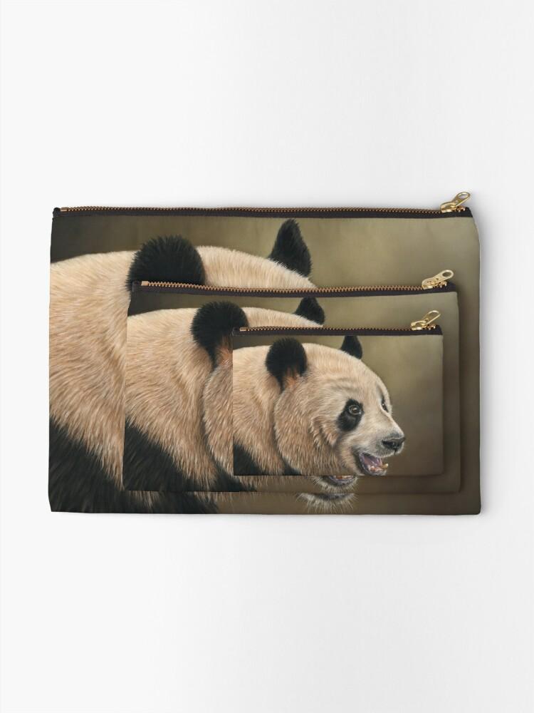 Alternate view of Giant Panda Zipper Pouch