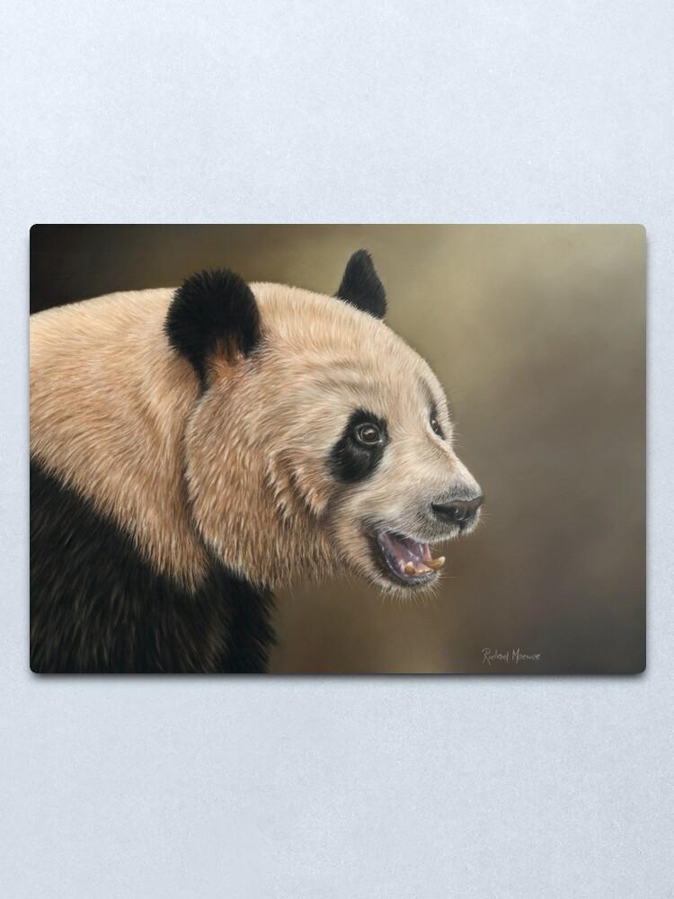 Alternate view of Giant Panda Metal Print