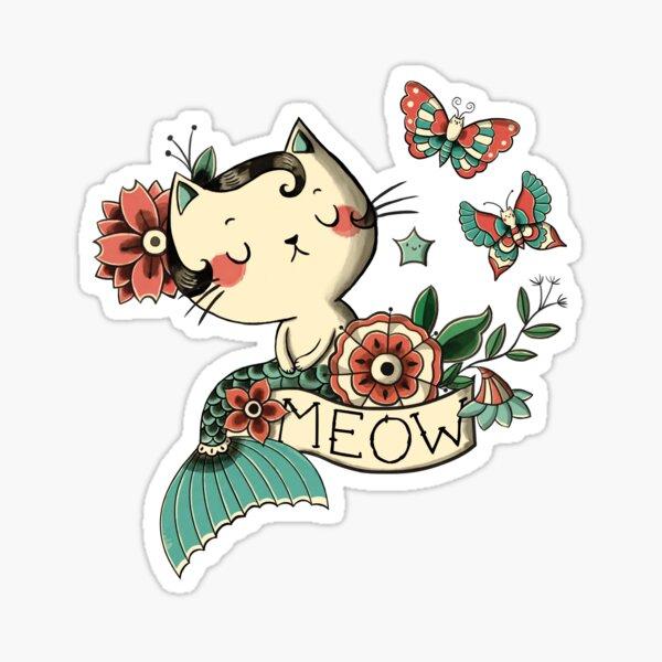 Born to Meow Sticker