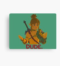 Dude, What The Heck Canvas Print