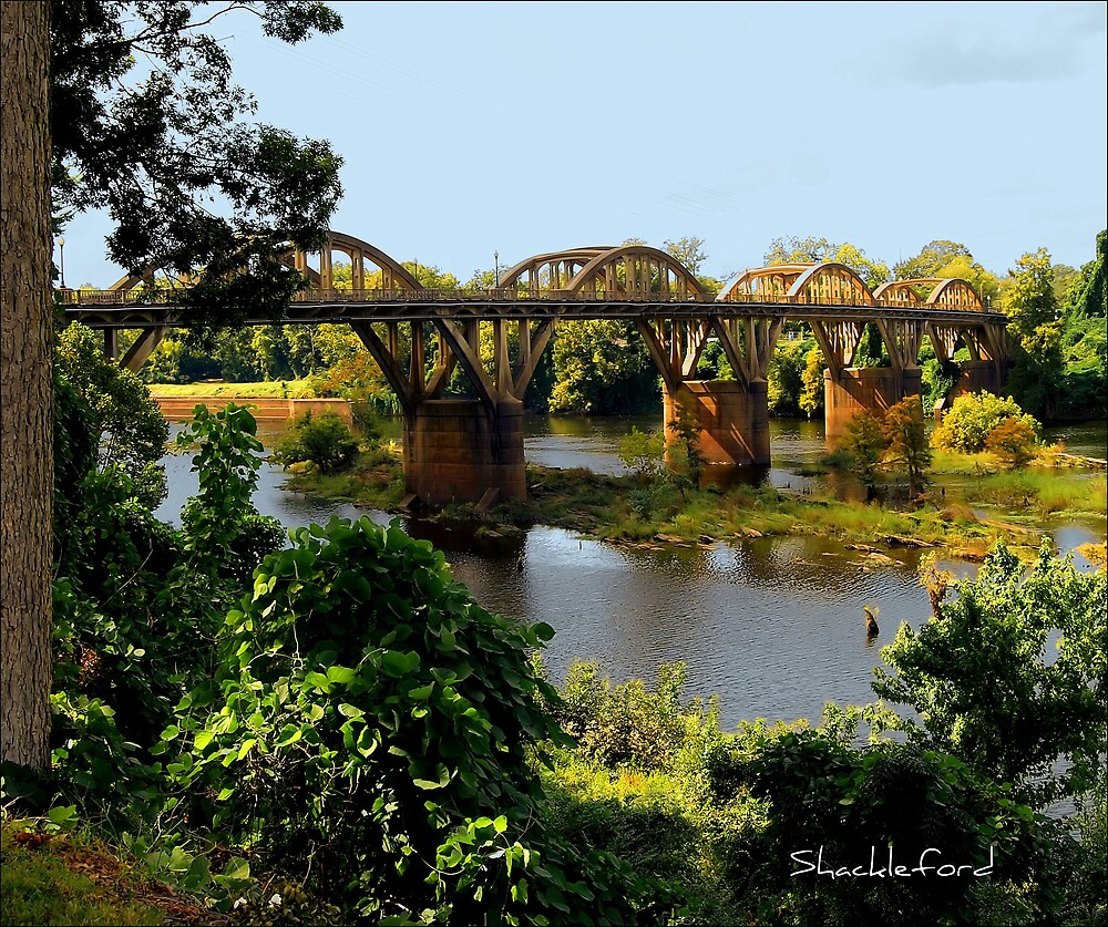 Bridge Over the Coosa by Donnie Shackleford