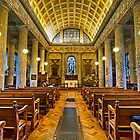 Inside St Lawrence Mereworth by Dave Godden