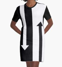 Mod Arrows Graphic T-Shirt Dress