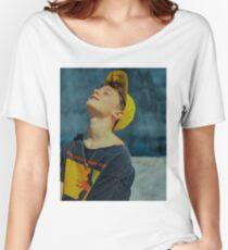 Camiseta ancha para mujer Noah Schnapp