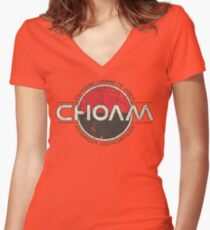 CHOAM Women's Fitted V-Neck T-Shirt