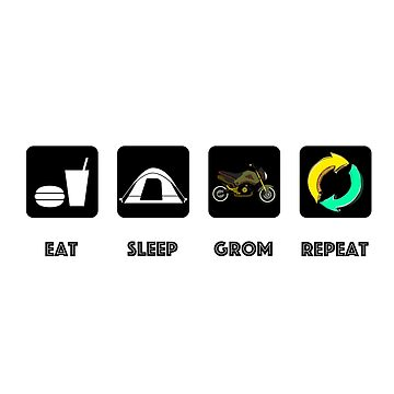 Eat, sleep, rave, repeat. by Gromance