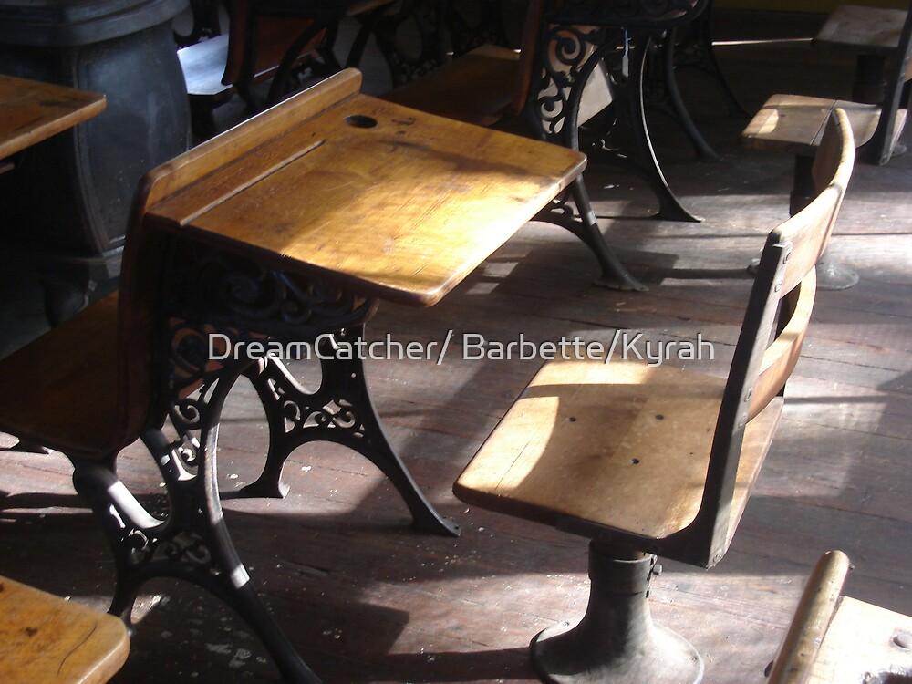 Old School Desk by DreamCatcher/ Kyrah