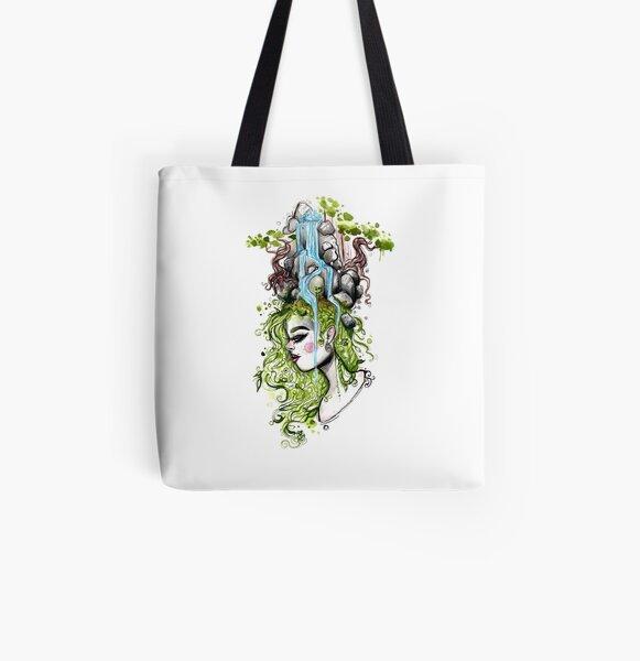 Habitat Head All Over Print Tote Bag