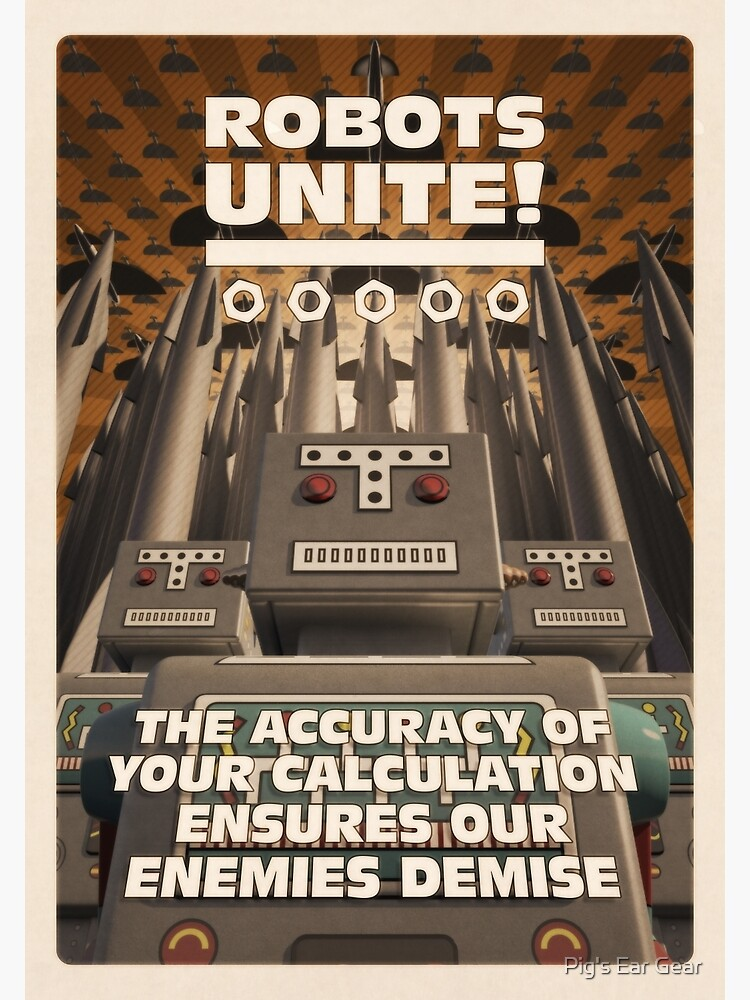 Robots Unite by adorman