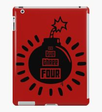 One, Two, Three, Four iPad Case/Skin