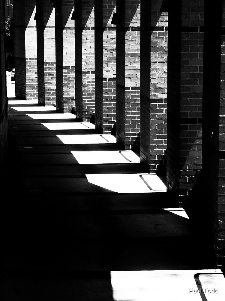Shadows and light (b&w) by Paul Todd