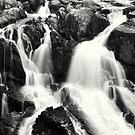 Swallow Falls Betws-y-Coed  by Kimberley Davitt