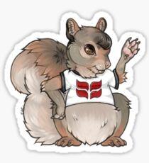 Grinnellian Squirrel Sticker
