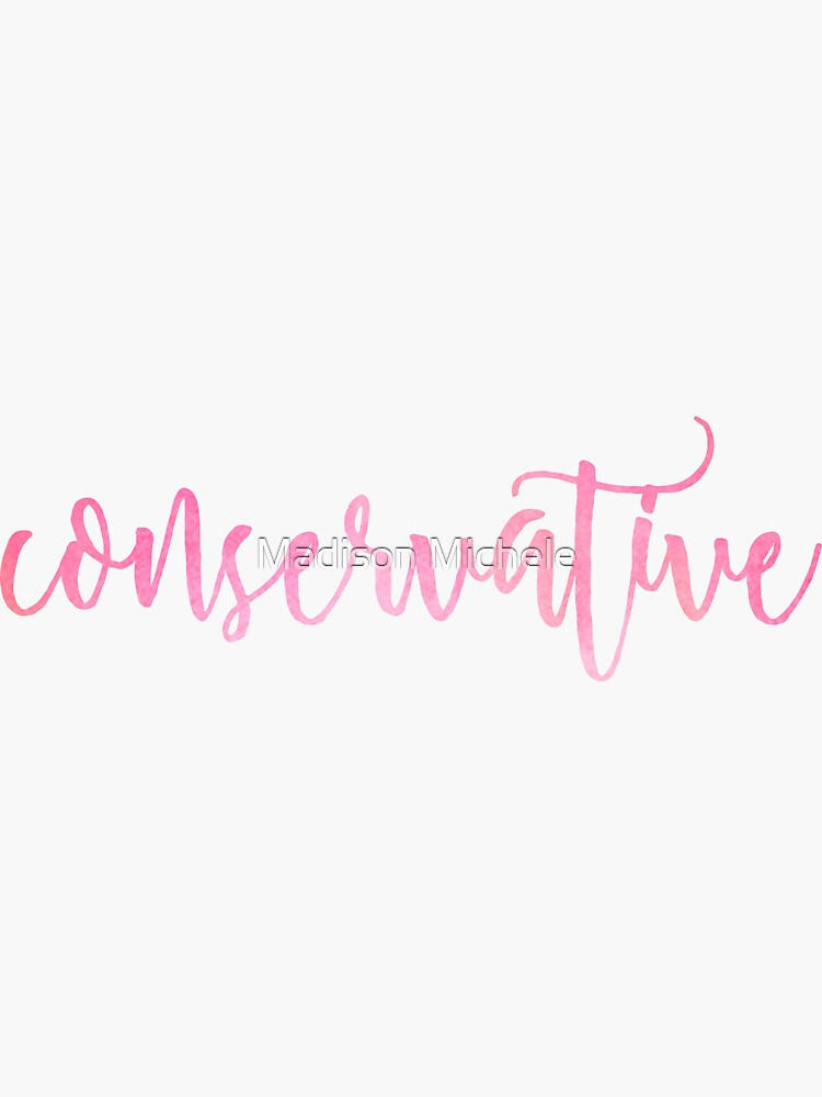 Conservative  by maddiepeacock