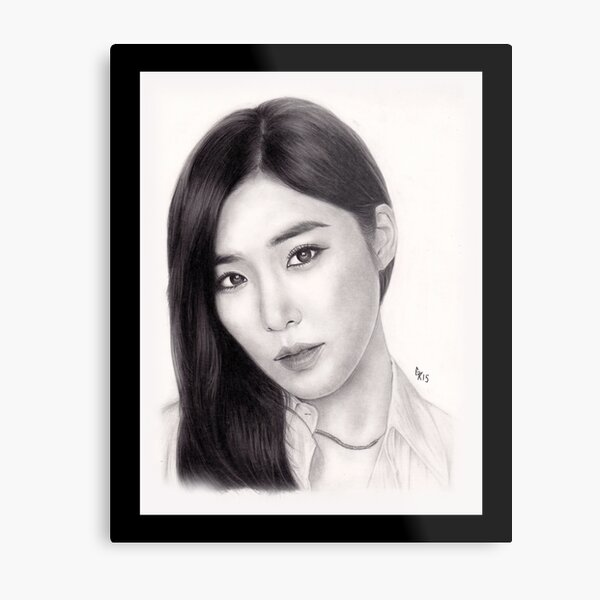 Girls' Generation Tiffany Hwang Metal Print