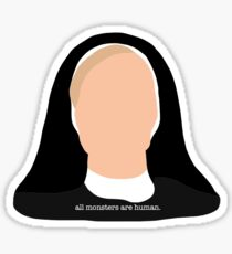 sister jude american horror story  Sticker