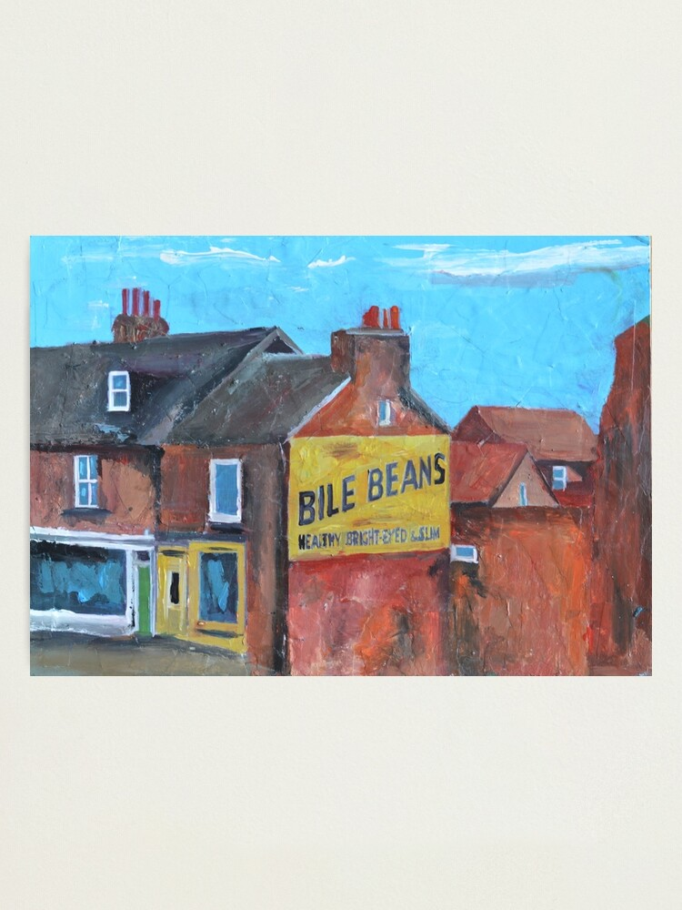 Alternate view of York, Bile Beans Gable Photographic Print