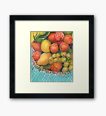 Feeling Fruitful Framed Print